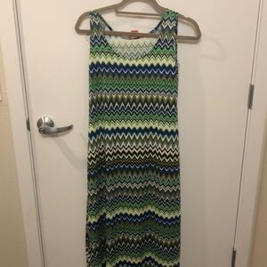 Sunny leigh maxi dress size small